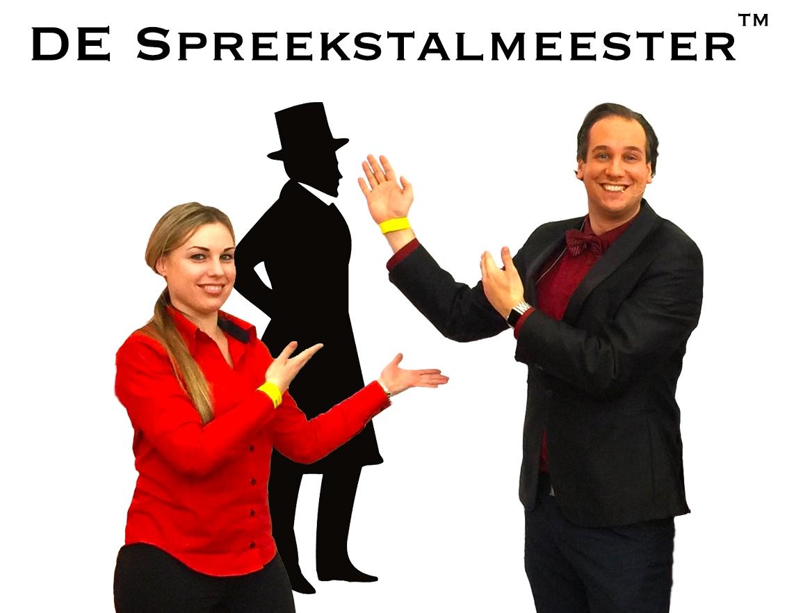 De Spreekstalmeester heet je welkom op de website!